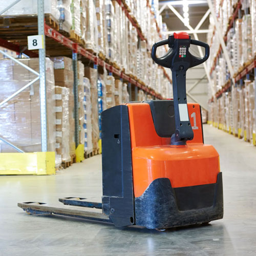 Electric ride on pallet mover for hire