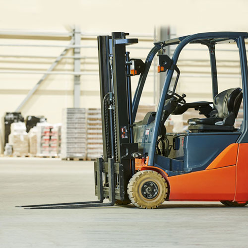 Container Mast Electric Forklift For Hire
