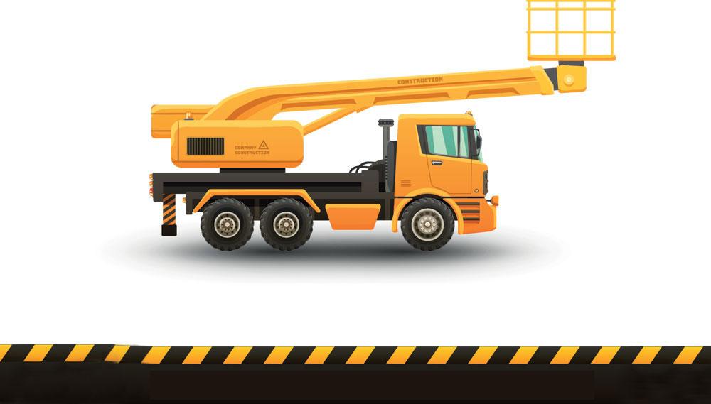 Truck mounted EWP over 11 metres
