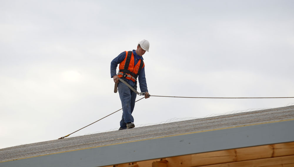 Working Safely At Heights on roof
